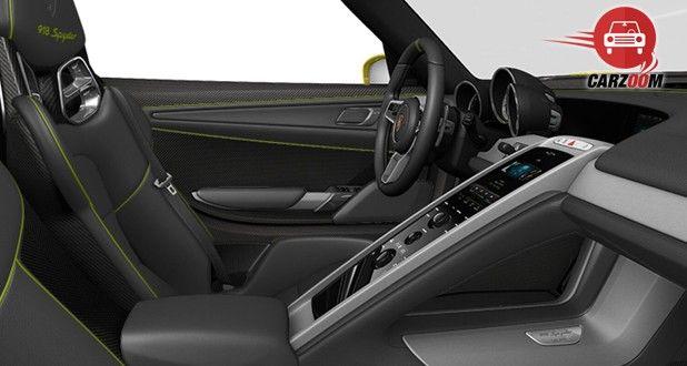Porsche 918 Spyder Interior View