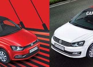 Volkswagen Vento Highline Plus and Volkswagen Polo Exquisite