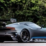 Aston Martin Vulcan Exterior Back and Side View