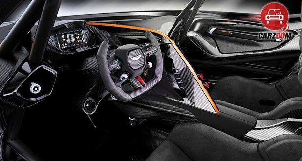 Aston Martin Vulcan Interior View