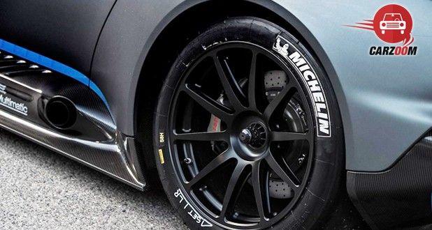 Aston Martin Vulcan Tyre View