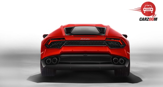 Lamborghini Huracan LP 580 2 Back View
