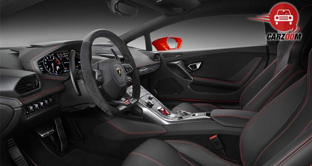 Lamborghini Huracan LP 580 2 Interior Dashboard View