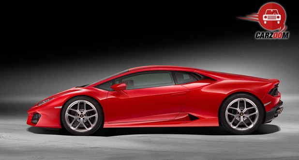 Lamborghini Huracan LP 580 2 Side view