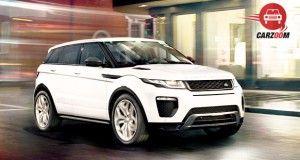 Land Rover Range Rover Evoque Facelift Exterior View