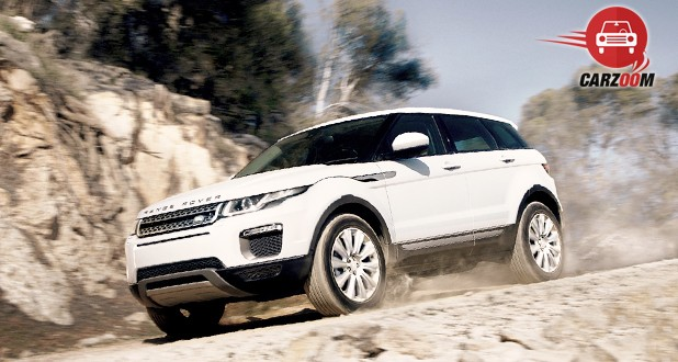 Land Rover Range Rover Evoque Facelift Front and Side View