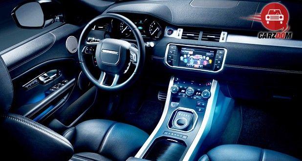 Land Rover Range Rover Evoque Facelift Interior Dashboard
