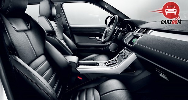 Land Rover Range Rover Evoque Facelift Interior Seat View