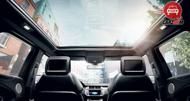 Land Rover Range Rover Evoque Facelift Interior View