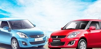 Maruti Suzuki Swift and Maruti Suzuki Swift Dzire