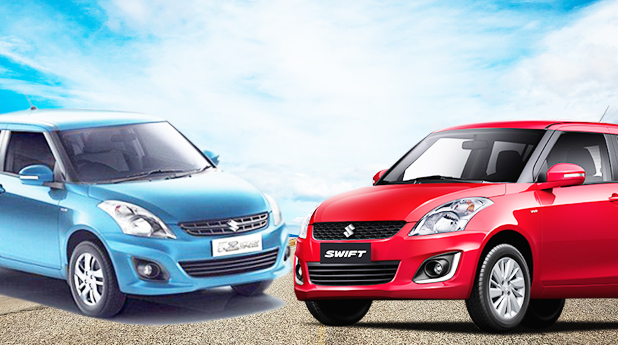 Maruti Suzuki Swift and Maruti Suzuki Swift Dzire