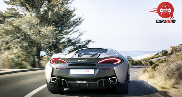 McLaren 570S Coupe Exterior Back View