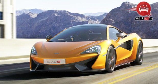 McLaren 570S Coupe Exterior Front View