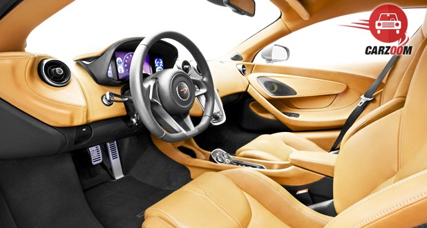 McLaren 570S Coupe Interior View