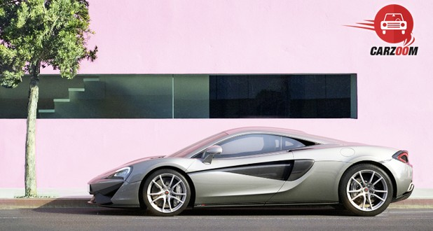 McLaren 570S Coupe Side View