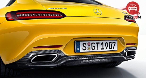 Mercedes-Benz AMG GT S Back View
