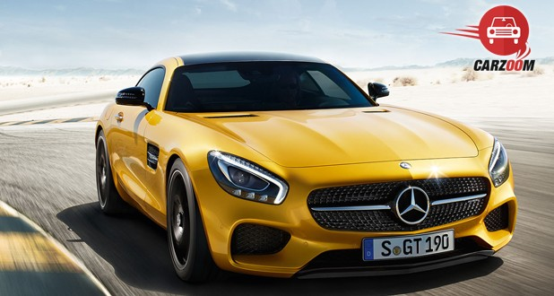 Mercedes-Benz AMG GT S Exterior Front View