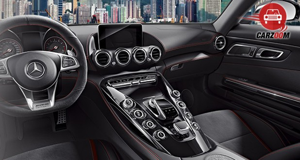 Mercedes-Benz AMG GT S Interior Dashboard View