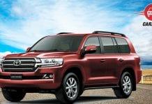 Toyota Land Cruiser 200 Facelift