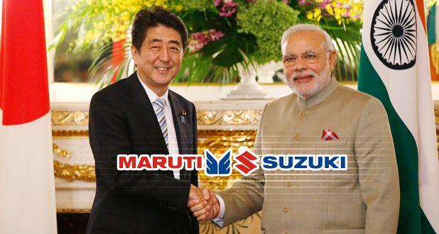 Maruti Suzuki and ModiAbe