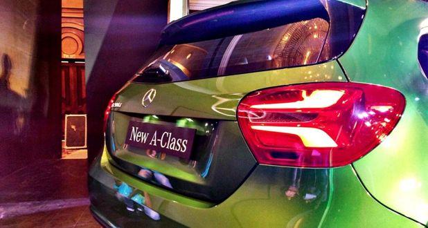 Mercedes-Benz A-Class Back