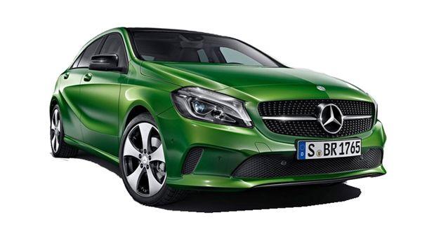 Mercedes-Benz A-Class Front View