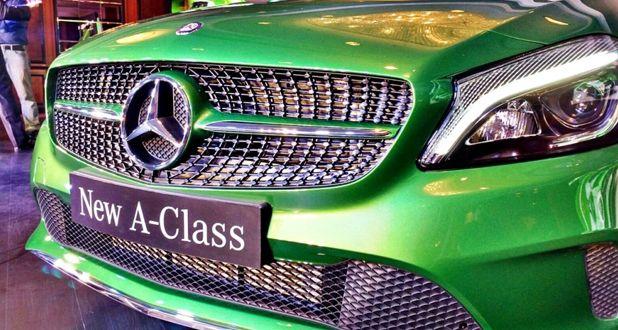 Mercedes-Benz A-Class Front