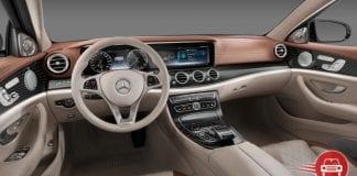 2016 Mercedes-Benz E class interiors