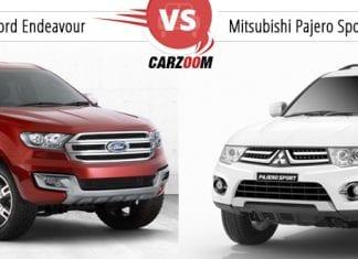 Ford Endeavour vs Mitsubishi Pajero Sport