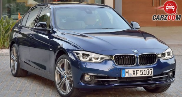 BMW 3-Series Facelift Front
