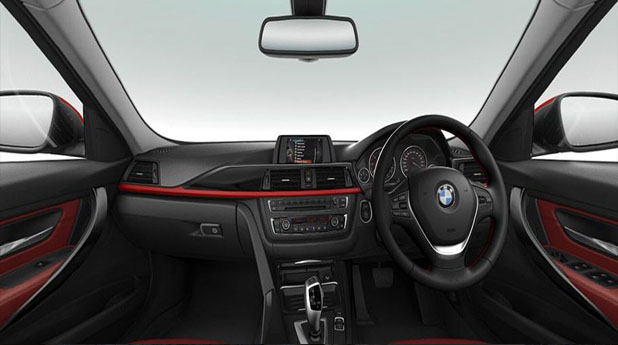 BMW 3-Series Facelift Interior