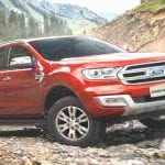 Ford Endeavour Front View
