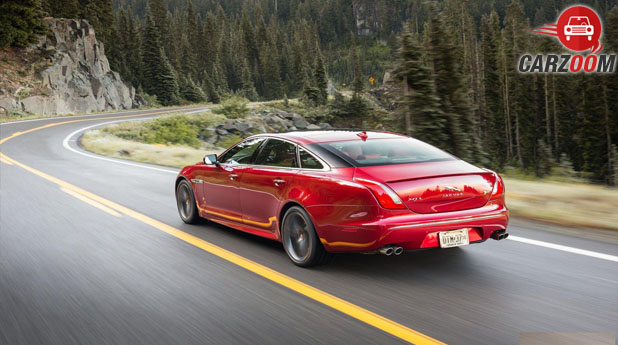 Jaguar XJ Facelift Back