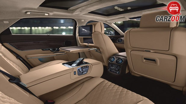 Jaguar XJ Facelift Interior