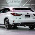 Lexus RX Back View