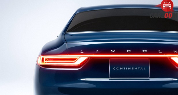 Lincoln Continental Concept Back View