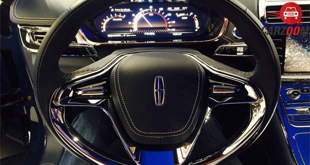 Lincoln Continental Concept Steering