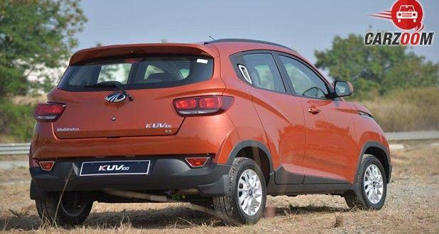 Mahindra KUV100 Back View