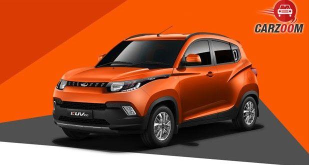 Mahindra KUV100 Front View