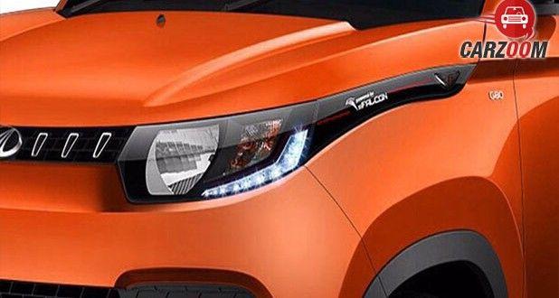Mahindra KUV100 Headlights