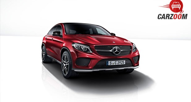 Mercedes-Benz GLE Class 450 AMG Coupe Front
