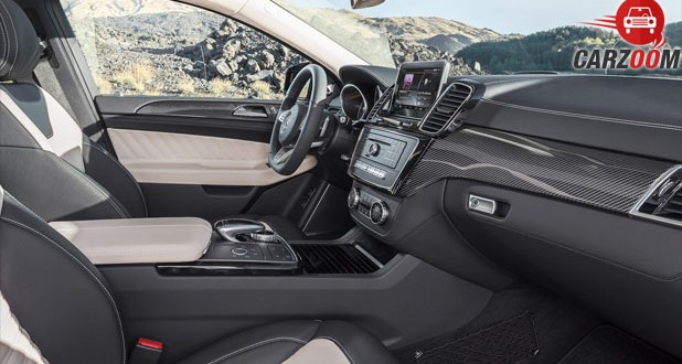Mercedes-Benz GLE Class 450 AMG Coupe Interior