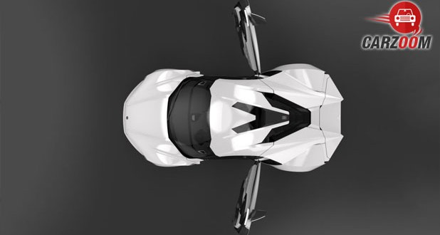W Motors Lykan Hypersport Upper View