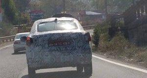 Tata Sedan Spotted
