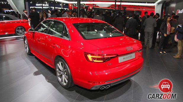 2016 Audi A4 Back
