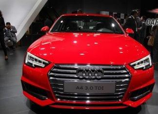 2016 Audi A4 Front