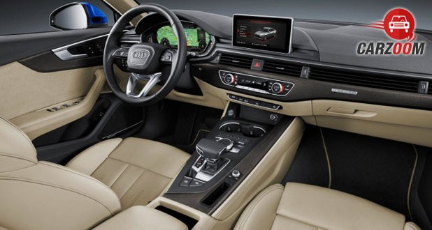 2016 Audi A4 Interior View