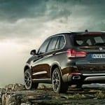 2016 BMW X5 Back