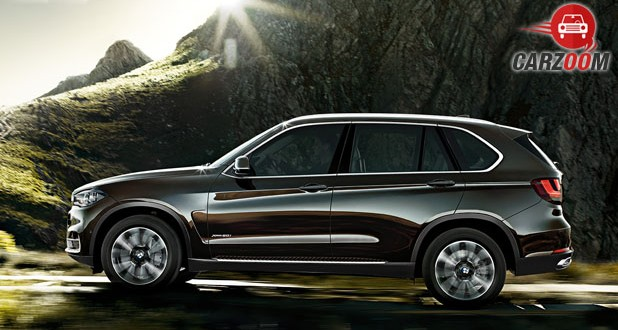 2016 BMW X5 Side View