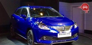 Auto Expo 2016: Maruti showcases Baleno RS concept